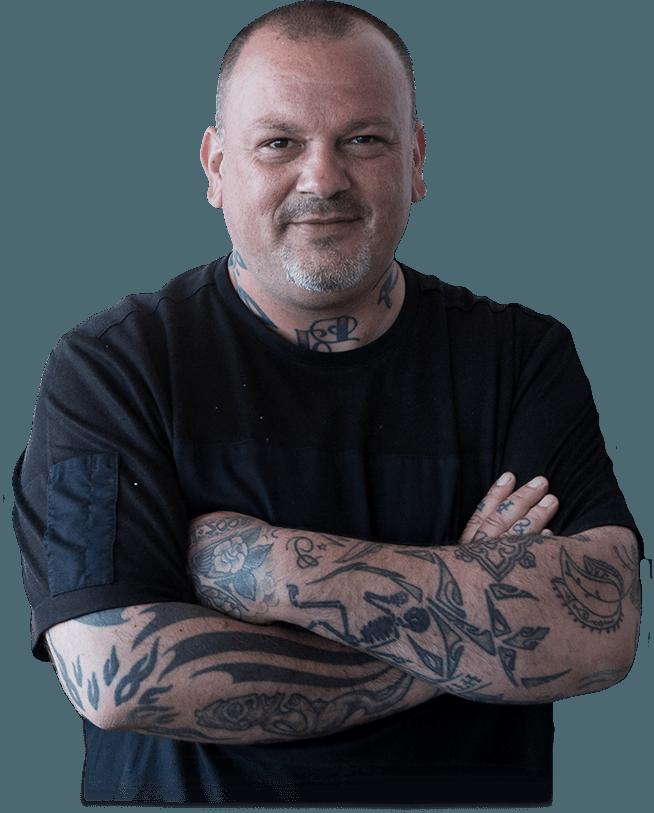 Chef Dimitris Skarmoutsos